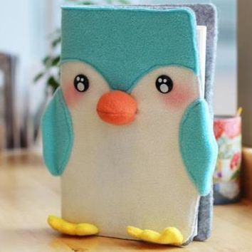 Penguin Notebook Diary Travel Journal Book