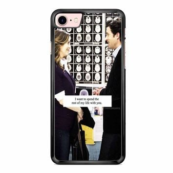 Grey S Anatomy Quote iPhone 7 Case