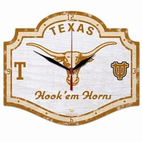 NCAA College Vault Texas Longhorns High Definition Clock