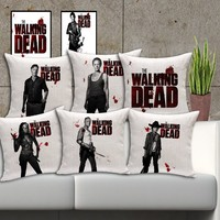 "18"" The Walking Dead Themed Cushion Covers"