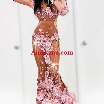 Brianna Rose Diamante Evening Dress