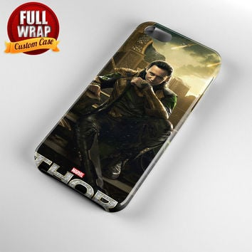 Thor Loki Odin Malekith Full Wrap Phone Case For iPhone, iPod, Samsung, Sony, HTC, Nexus, LG, and Blackberry