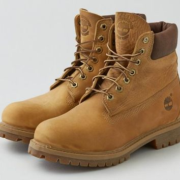 AEO Men's Timberland Heritage 6 Waterproof Boot (Tan)