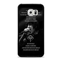 Bring Me The Horizon Happy Song Band Lyric  Samsung Galaxy S6 Case