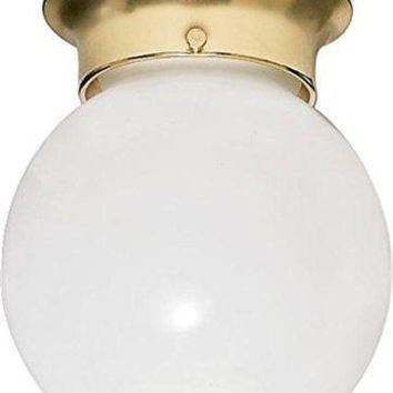 "Nuvo 77-109 - 8"" Close-To-Ceiling Flush Mount Ceiling Light"
