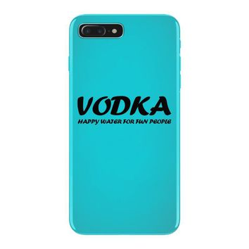 vodka water for happy people t shirt s m l xl 2xl 3xl funny beer keg c iPhone 7 Plus Case