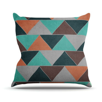 "Catherine McDonald ""Southwest"" Outdoor Throw Pillow"