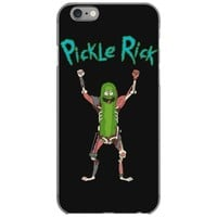 pickle rick iPhone 6/6s Case