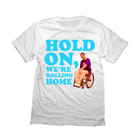 Drake Shirt | Hold On, We're Rolling Home | Funny Jimmy Wheelchair Degrassi Tshirt