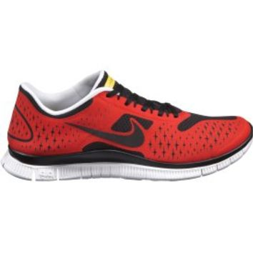 Nike LIVESTRONG Men's Free 4.0 v2 Running Shoe - Red/Black | DICK'S Sporting Goods