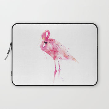 Flamingo Laptop Sleeve by monnprint