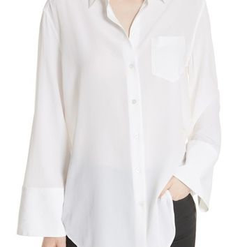 Equipment Coco Bell Sleeve Silk Blouse | Nordstrom