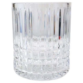 Ceska Crystal Ice Bucket, Vase, Catchall