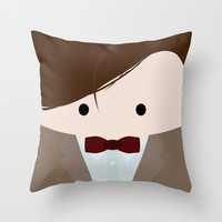 Doctor Who 11  Throw Pillow by House of Jennifer