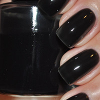 Tamala Black Jelly Nail Polish 15ml (.5oz)