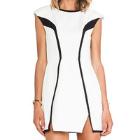 Finders Keepers By The Way Dress in Black & White