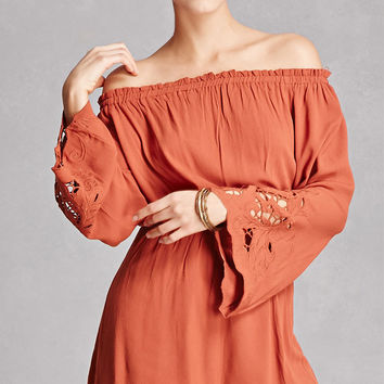 Lush Off-the-Shoulder Romper