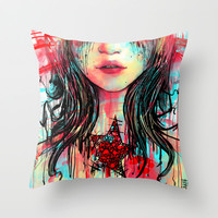 It´s all messy Throw Pillow by DizzyNicky