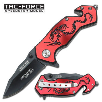 AO Red Dragon Rescue Knife