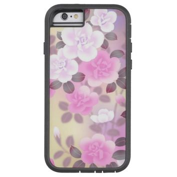 beautiful pink floral case