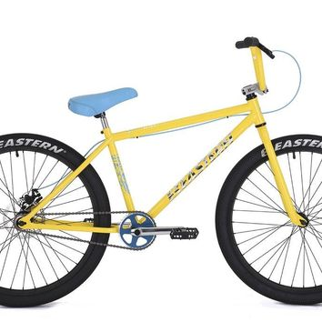 "Eastern Growler 26"" Yellow Complete Cruiser Bike"