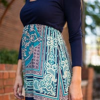 Magic Ride Maxi, Navy/Jade