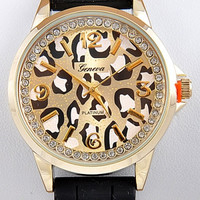 Adorned Lynx Watch