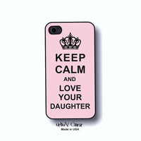 Mothers day gift Phone case, Iphone case,  -  Iphone 4, 4S, 5,5s,5c & Galaxy S3, S4 case - keep calm phone cover(6010)