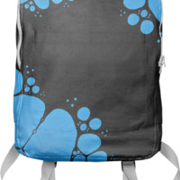 Blue Bubbles Backpack created by Christy Leigh | Print All Over Me
