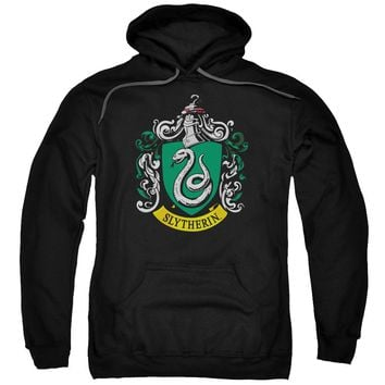 Harry Potter - Slytherin Crest Adult Pull Over Hoodie