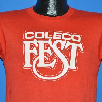 80s Coleco Fest Classic Video Game Festival t-shirt Small