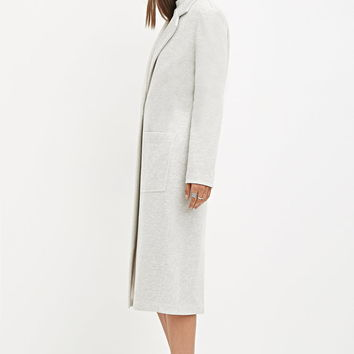 Heathered Duster Coat