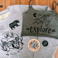 Chillin' Koala sweatshirt