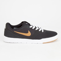 Nike Sb Paul Rodriguez 9 Cs Mens Shoes Black/White/Gum Light Brown/Metallic Gold  In Sizes