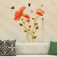 Vintage Blossom - Wall Decals Stickers Appliques Home Decor