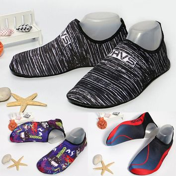 Men Women Beach Swim Shoes Quick-Dry Aqua Socks Surf Yoga Water Shoes Aerobics