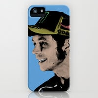 Valentino Rossi the Doctor Moto GP Vintage Retro Warhol Style iPhone & iPod Case by insitemyhead
