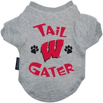 PEAPYW9 Wisconsin Badgers Tail Gater Tee Shirt