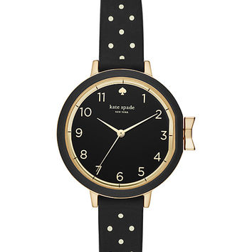 polka dot silicone park row watch | Kate Spade New York
