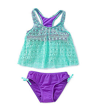 Malibu Dreams 7 16 Crochet Tankini Set From Dillard S The