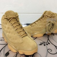 "Air Jordan 13 ""Wheat"" 3D Cat Sneaker 36----47"