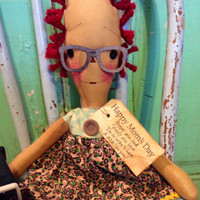 Mother's Day gifts - for grandmother and mother's Raggedy Annie doll