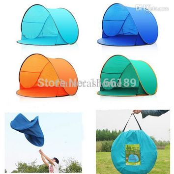 Automatic Pop Up 1-2 Person Beach UV sun shade Outdoor Tent