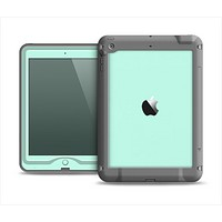 The Subtle Solid Green Apple iPad Air LifeProof Nuud Case Skin Set