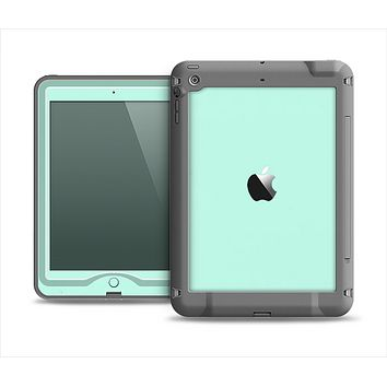 The Subtle Solid Green Apple iPad Mini LifeProof Nuud Case Skin Set