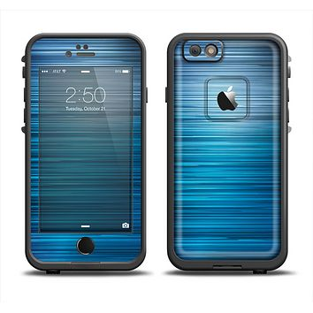 The Dark Blue Streaks Apple iPhone 6 LifeProof Fre Case Skin Set