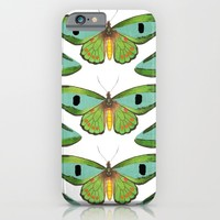 butterfly pattern iPhone & iPod Case by Her Art