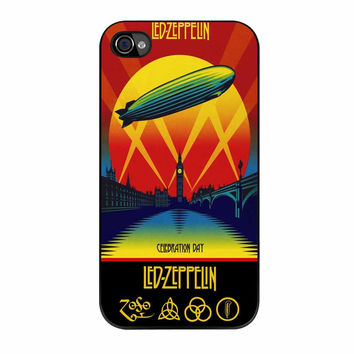 Led Zeppelin Poster iPhone 4 Case