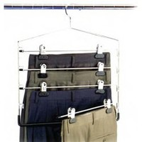 Dorm Space Saver 4-Tier Swing Arm Pant/Skirt