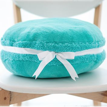 tiffany's blue - the macaron pillow